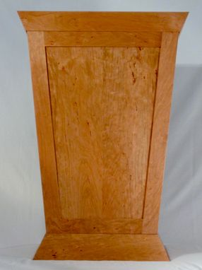 Custom Made Solid Cherry Pulpit/Lectern