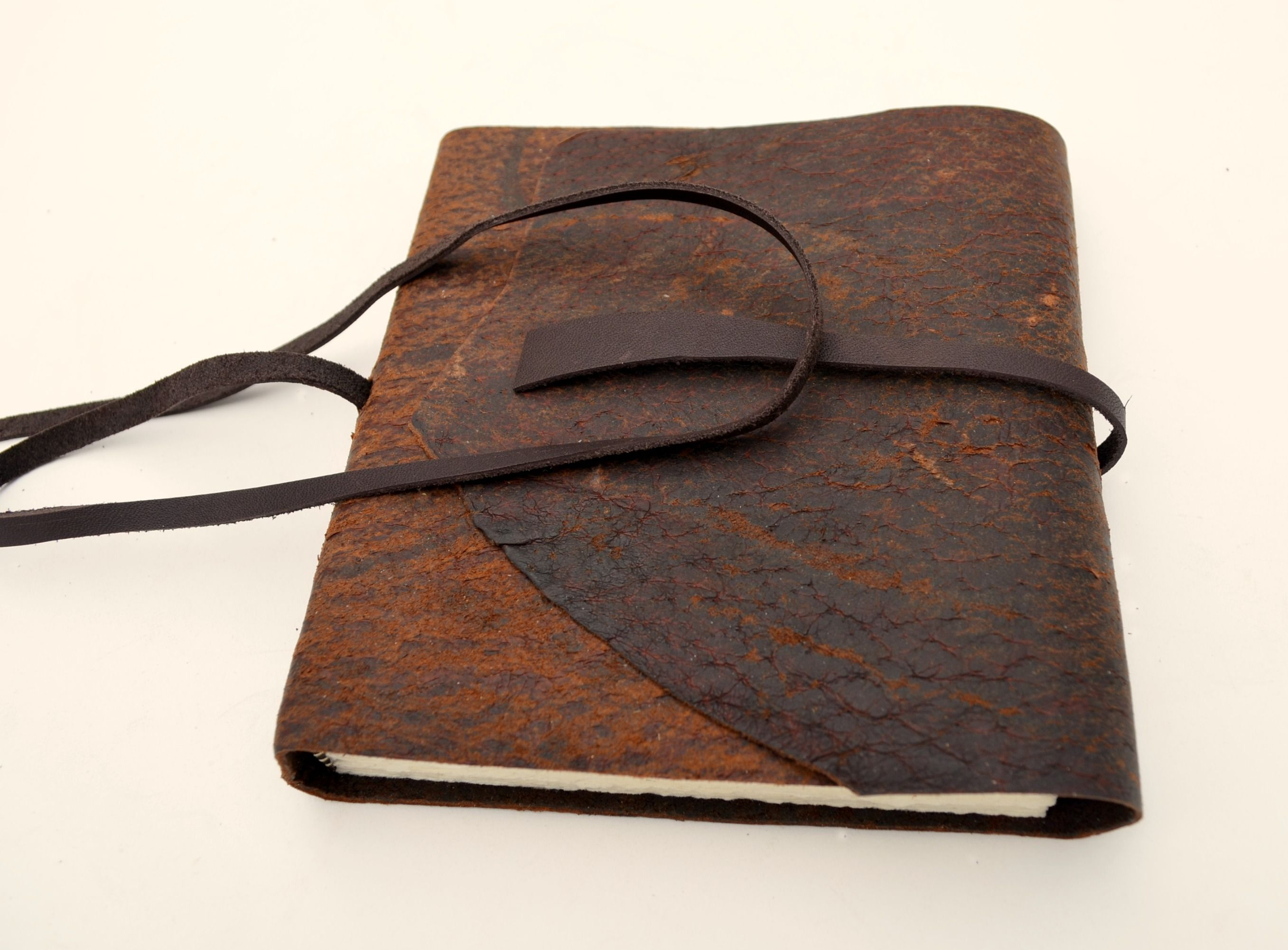 Fabulous Buy a Custom Handmade To Order Pigskin Leather Bound Travel  SI35