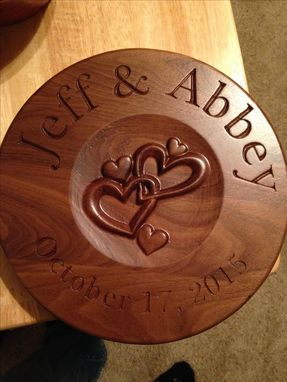 Custom Made Custom Plaque
