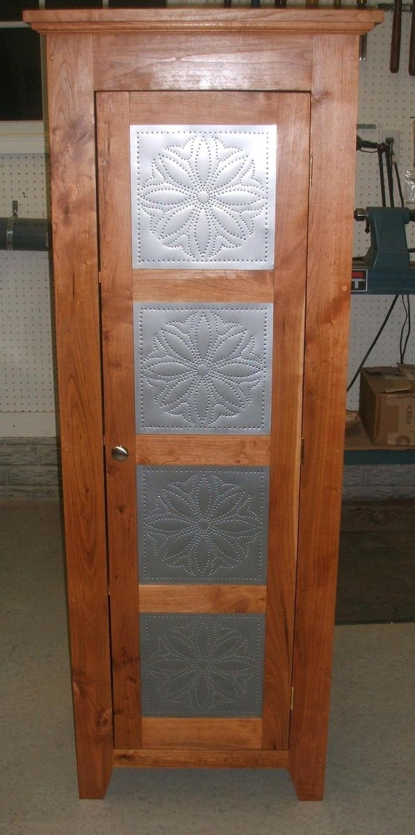 Handmade Punched Tin Pie Safe By Jdm Woodworks Llc
