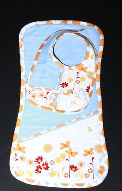 Custom Made Bib And Burp Cloth