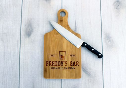 Custom Made Personalized Paddle Board -- Cb-Pad-Freddy'sbarclassic
