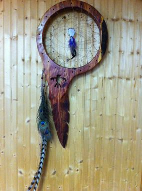 Custom Made Cedar Dream Catcher