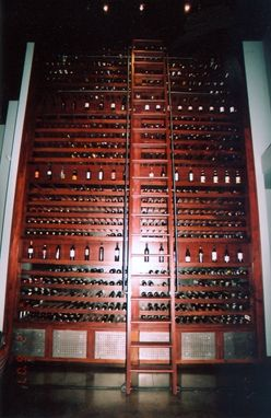 Custom Made Wine Storage Unit