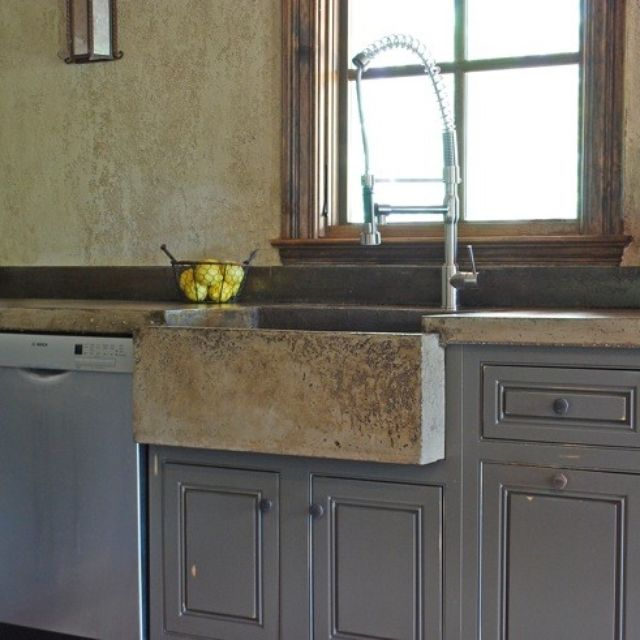 Custom sinks custommade tuscan kitchen farm sink by michael demay workwithnaturefo