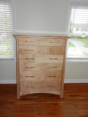 Custom Made Stolt: Curly Maple Chest
