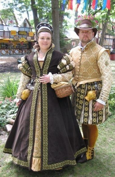 Custom Made Elizabethan Renaissance Faire Outfits By