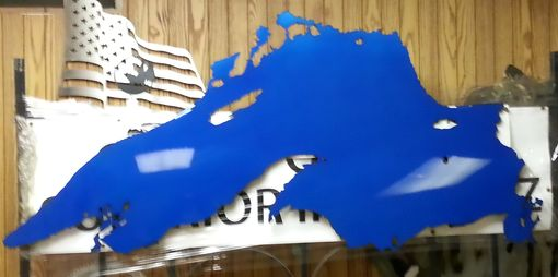 Custom Made Great Lakes Metal Wall Art Collection