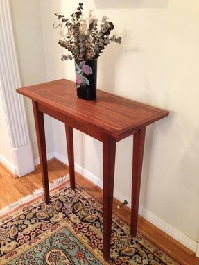 Custom Made Hall Table - Walnut