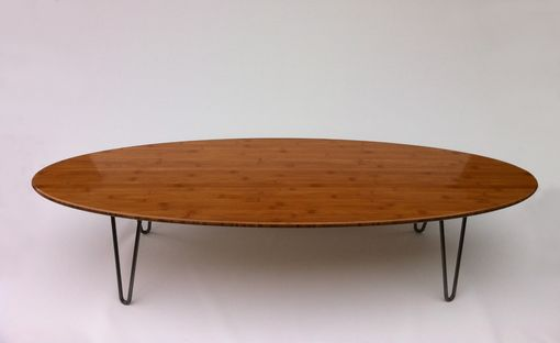 Custom Made Elliptical Coffee Table