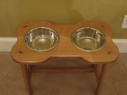 Custom Made Doggie Dinner Table