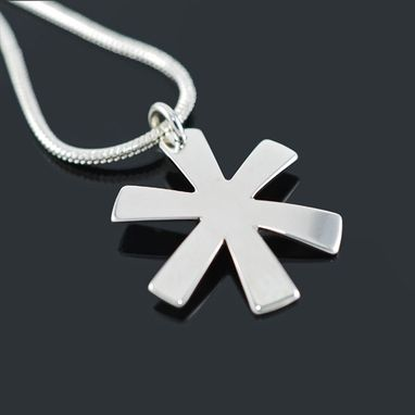 Custom Made Iota Chi Cross Pendant