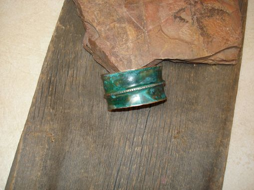Custom Made Copper Cuff