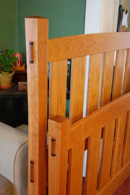 Custom Made Stickley Goes To Scandinavia Cherry Bed
