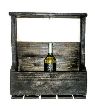 Custom Made Rustic Wine Rack