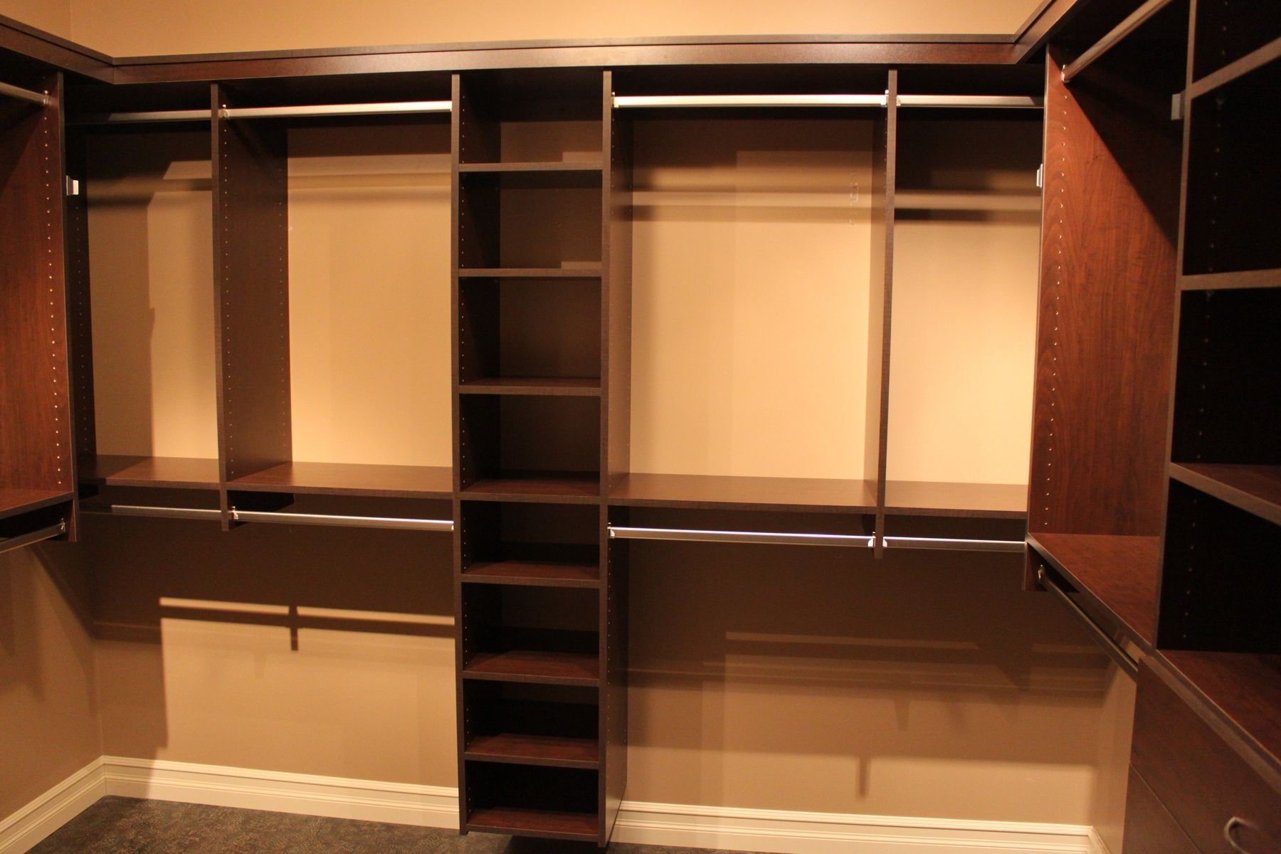 Hand Crafted Custom Walk In Closet By Peace Country Interiors amp Millwork CustomMadecom