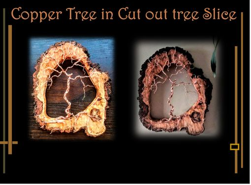 Custom Made Copper Tree, Boyfriend Gift,Couples Gifts,Gifts For Men, Anniversary,Girlfriend Gift