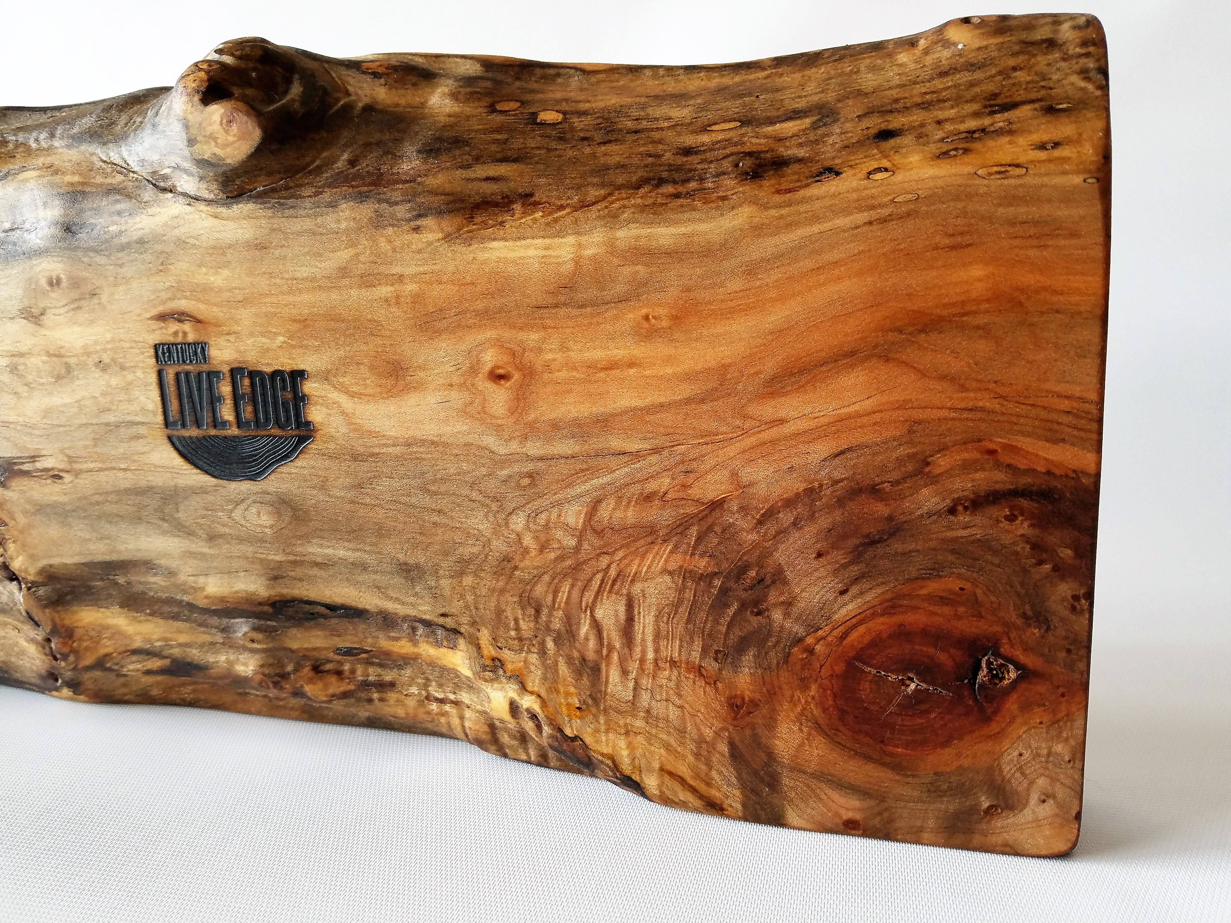 Hand Made Serving Board Charcuterie Board Natural Wood