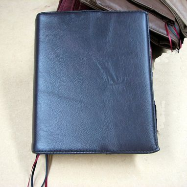 Custom Made Leather Book Cover