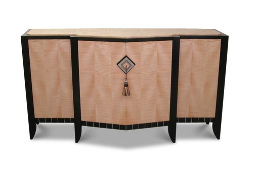 Custom Made Chevron Buffet