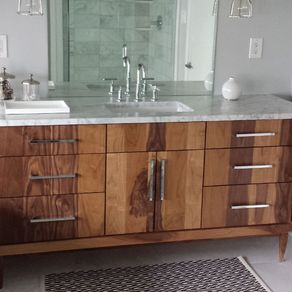 Custom Bathroom Double Vanities custom bathroom cabinets. 132 custom bath cabinetry 131custom