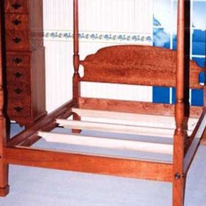 Cherry Tall Post Bed