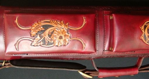 Custom Made Fisher Leather Poolstick Case