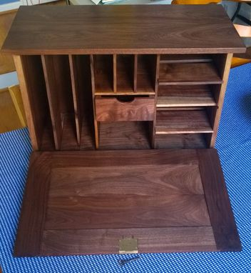 Custom Made Civil War Era Officers Field Desk