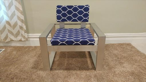 Custom Made Beautiful Modern Lounge Or Accent Chair