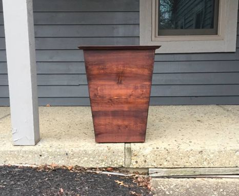 Custom Made Modern Cedar Planter