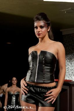 Custom Made Leather Corset