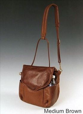 Custom Made Minipack, Brown Leather
