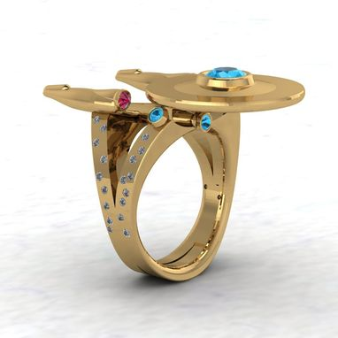 Custom Made Golden Anniversary Boldly Ring!- Ladies