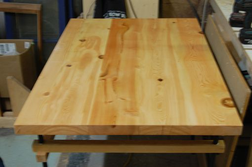 Custom Made Reclaimed Douglas Fir Industrial Desk