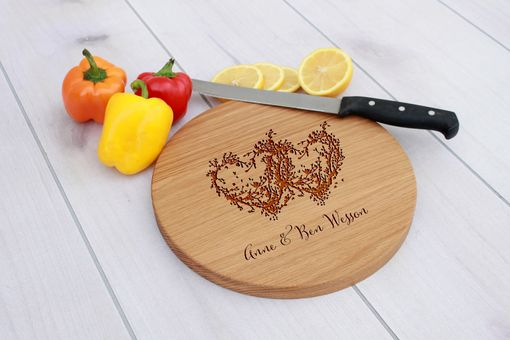 Custom Made Personalized Cutting Board, Engraved Cutting Board, Custom Wedding Gift – Cbr-Wo-Anne Ben Wessen