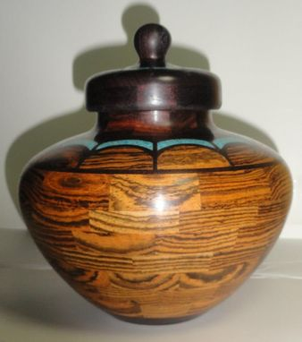 Custom Made Small Inlay Lidded Container