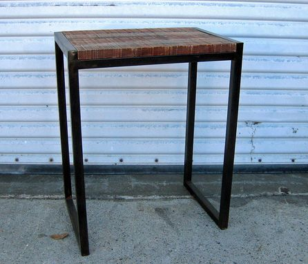 Custom Made Port Reclaimed End Tables