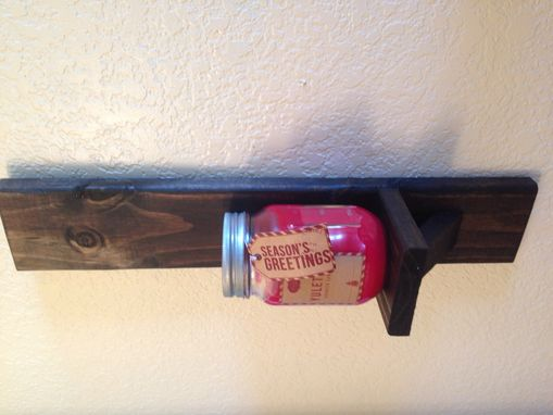 Custom Made Rustic Wall Sconce Set