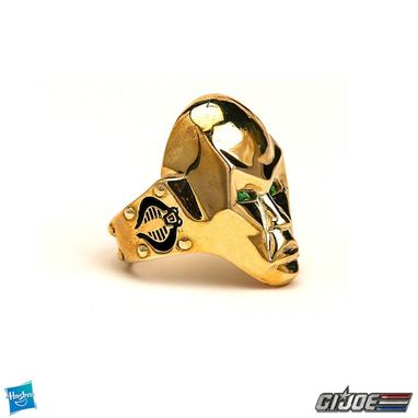 Custom Made Destro Ring - Gi Joe - Precious Metals