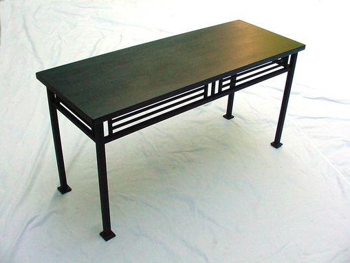 Custom Made Arts And Crafts Console Table