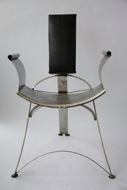 Custom Made Stainless Steel Chair