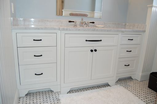 33 Single Bathroom Vanity: Hand Made Wide Single Bathroom Vanity By John Samuel