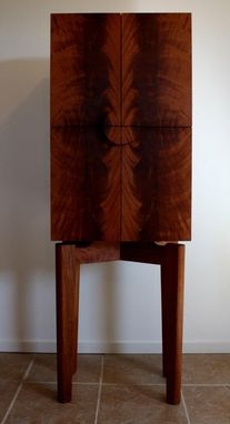 Custom Made Mahogany Cabinet