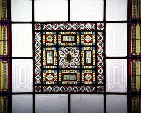 Custom Made Iowa State Capitol Stained Glass Restoration