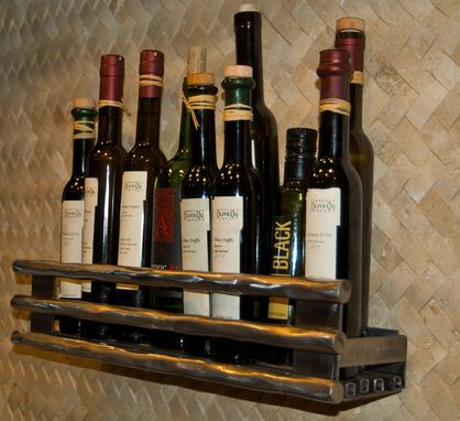 Custom Made Gourmet Olive Oil Rack