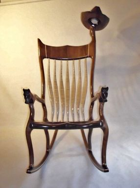 Custom Made Western Style Rocking Chair