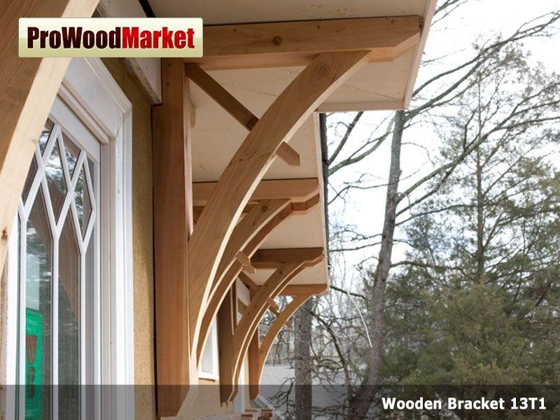 Custom Made Wooden Cedar Bracket 13t1 by Pro Wood Market ...