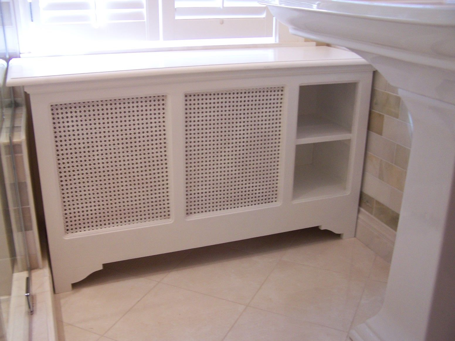 Hand Crafted Custom Radiator Cover By Tom Jansson