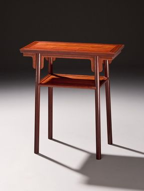 Custom Made Ming Hall Table