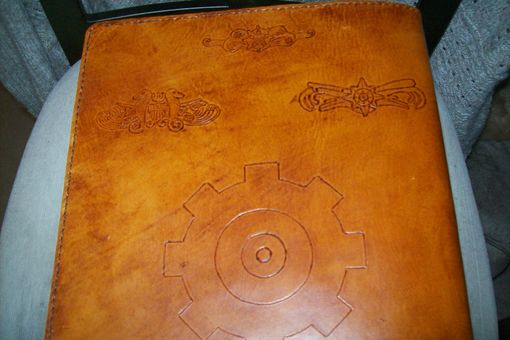 Custom Made Custom Leather Coast Guard Chief Book